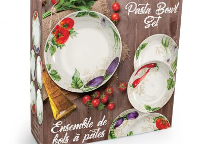 MEDITERRANEO Pasta Set Packaging
