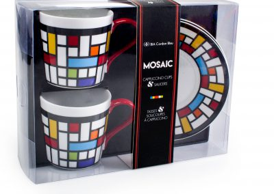 MOSAIC Cappuccino Cups Packaging