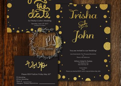Wedding Invite Set